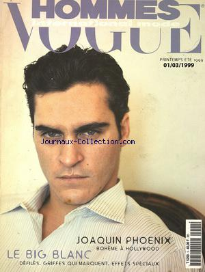 VOGUE HOMMES no: 01/03/1999