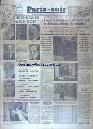 Paris-soir no:3746 09/01/1934