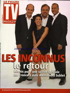 FIGARO TV MAGAZINE (LE) no: 22/12/2013