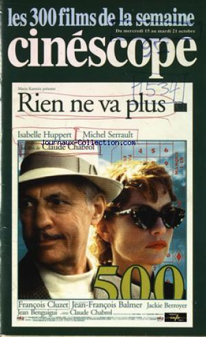 CINESCOPE no: 15/10/1997