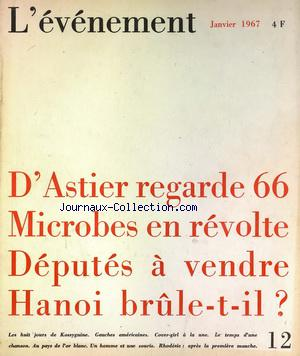 Evenement (l') no:12 01/01/1967