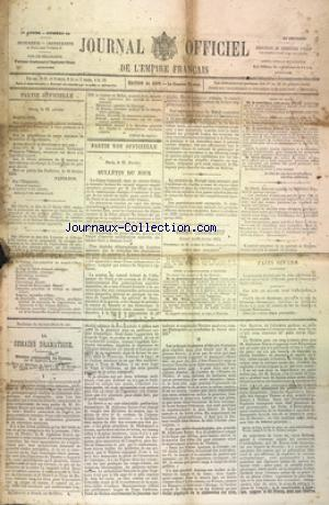 JOURNAL DE L'EMPIRE FRANCAIS no:53 22/02/1869