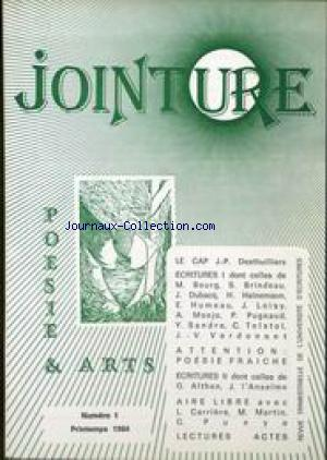 JOINTURE no:1 01/09/1984