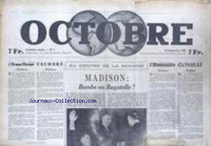 OCTOBRE no:1 20/09/1946