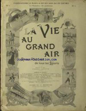 VIE AU GRAND AIR (LA) no:1