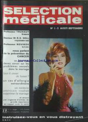 SELECTION MEDICALE no:1