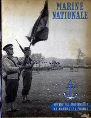MARINE NATIONALE no:1 01/11/1944