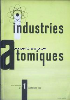 INDUSTRIES ATOMIQUES no:1 01/10/1956