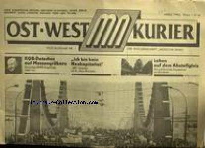 OST WEST KURIER   no:1 01/03/1990