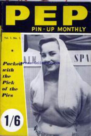 PEP   PIN UP MONTHLY no:1