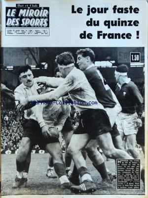 MIROIR DES SPORTS (LE) no:1068 29/03/1965
