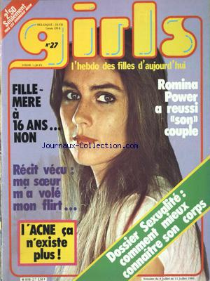 GIRLS no:27 04/07/1980