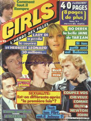GIRLS no:93 07/10/1981