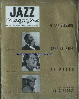 JAZZ MAGAZINE no:54 01/12/1959