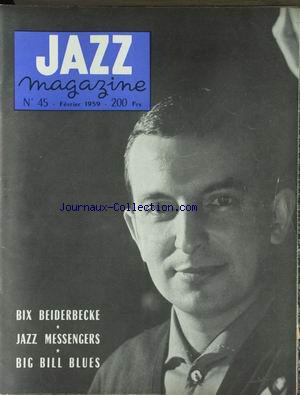 JAZZ MAGAZINE no:45 01/02/1959