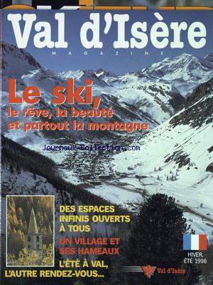 VAL D'ISERE MAGAZINE no: 01/12/1996