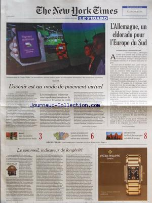 NEW YORK TIMES FIGARO (THE) no: 04/05/2012