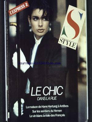 STYLE L'EXPRESS 2 no:1 17/10/1986