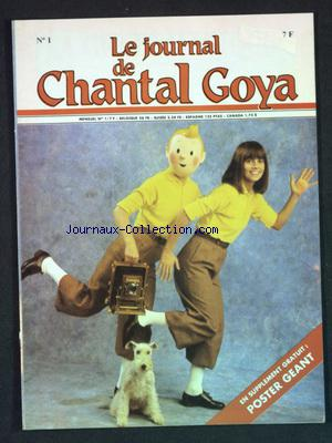 JOURNAL DE CHANTAL GOYA (LE) no:1