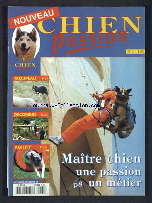 CHIEN PASSION no:1 01/11/1994