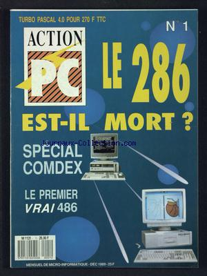 ACTION PC no:1 01/12/1989